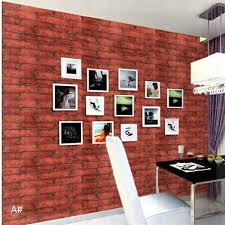 photo collection paper red brick wallpaper for walls