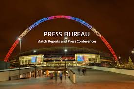 press bureau press bureau tv match reports and tv interviews