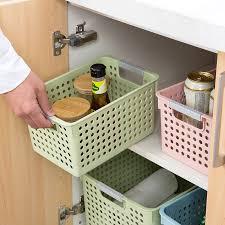 panier de cuisine plaine finition panier cuisine panier en plastique salle de bains