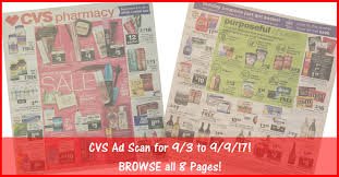 cvs black friday 2017 cvs weekly ad scan 9 3 17 9 9 17 browse all 8 pages