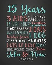2 year anniversary gifts for wedding anniversary gifts paper canvas 15 year anniversary 15th