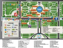 Chicago Walking Map by Grant Park Chicago Map Afputra Com