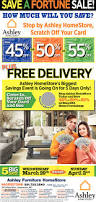 Ashley Furniture Card by Ashley Furniture Save A Fortune Sale Shopping Ads From Herald