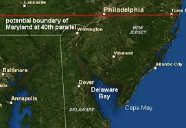 map of maryland delaware and new jersey virginia maryland boundary