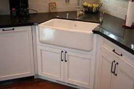 Corner Sink Base Cabinet Kitchen by Corner Sinks For Kitchens