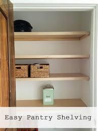 remarkable ideas how to build wood closet shelves closet
