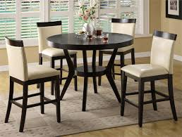round high top table and chairs modern high top tables table designs