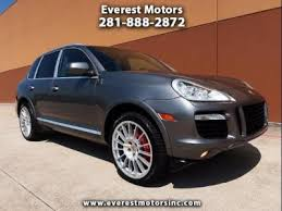 used porsche cayenne houston used porsche cayenne turbo in houston tx auto com