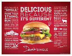 wendy u0027s dave u0027s single cheeseburger 2016 review fast food geek