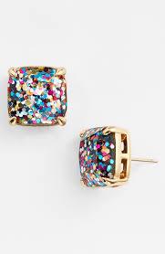glitter stud earrings kate spade new york glitter stud earrings nordstrom