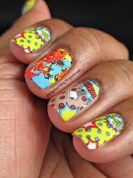 fairly charming kiss nail dress comic nail strips