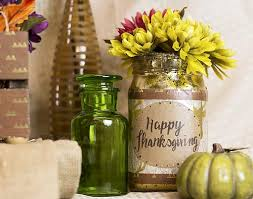 Gold Table Centerpieces by Happy Thanksgiving