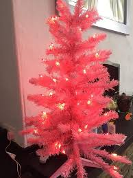 3ft tree pink un used prelit in plymouth gumtree