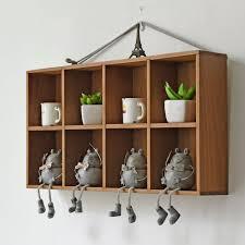 Desktop Cabinet Online Diy Grocery Cabinet Desktop Furniture Box 8 Grids Boxes Top Wooden