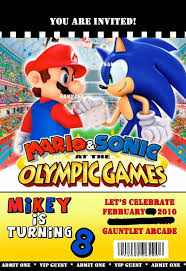 67 best sonic and mario birthday images on pinterest sonic party