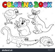 coloring pages australian animals coloring pages mycoloring free
