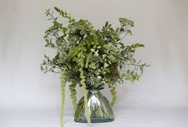 White Vase White Vase Bouquet Trachelium Snapdragon Arrangement
