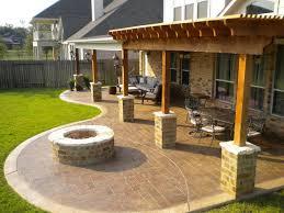 Designs For Backyard Patios Backyard Patio Gardening Design