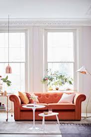 Living Room Sofa Furniture by Best 20 Orange Sofa Inspiration Ideas On Pinterest Orange Sofa