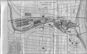 Phoenix Road Map by Phoenixville Old Maps