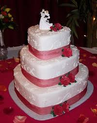 the 25 best red heart shaped wedding cakes ideas on pinterest