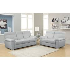 Grey Leather Sofa And Loveseat Sofa Design Ideas Light Gray Leather Sofa In Reclining