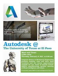 Student Auto Desk by Autodesk Meet U0026 Greet Graduate Student Recruiting Event