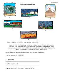 natural disasters vocabulary speaking activity eslflow
