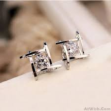 unique stud earrings fresh unique tic tac toe triangle zircon women earrings studs only