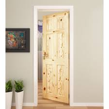 Six Panel Oak Interior Doors 6 Panel Knotty Pine Interior Door International Door Company