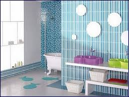 wonderful cool bright kids bathroom at awesome colorful design