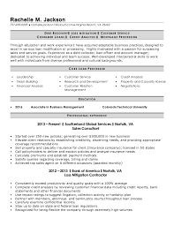 Sample Loan Processor Resume example resume for a loan processor