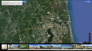 Google Map Of Florida Jacksonville Florida Map
