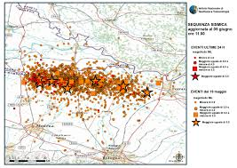Map Of Northern Italy by Italy Earthquake Aftershock Map Earth Magazine