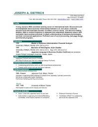 exle of resumes for sle resume resume exles 1855860