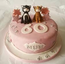 birthday ideas for a 60 year woman 60th cat birthday cake cakeart birthday