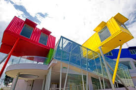 a shipping container library container centers schools