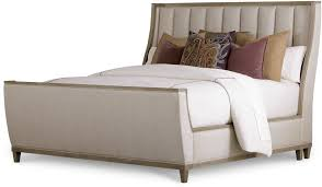 Upholstered Sleigh Bed A R T Cityscapes Chelsea Upholstered Sleigh Bed