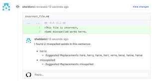 inaka spellingci no more spelling mistakes in your markdown flies