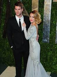 Jennifer Lawrence Vanity Fair Party Miley Cyrus Warns Jennifer Lawrence Hands Off Liam Hemsworth
