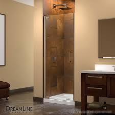 bathrooms swinging shower door glass shower doors lowes