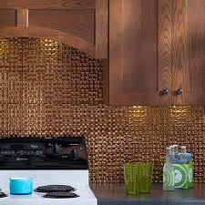 kitchen inspiring fasade backsplash and wooden kitchen cabinet