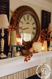 thanksgiving mantel decorating ideas top 25 best diy mantel clocks ideas on pinterest industrial