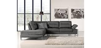 1372 gray chenille fabric modern sectional sofa