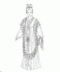 ancient china coloring pages funycoloring