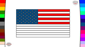 flags of north america countries flag coloring pages youtube