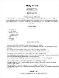 Banquet Server Resume Sample by Resume Duties Examples Resume Cv Cover Letter Server Resume