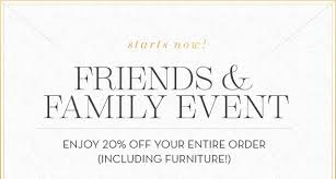 Pottery Barn Kids Order Pottery Barn Our Friends Family Event Starts Now Enjoy 20 Off