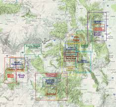 Utah Maps by Map Locator Find The Right Map For Your Adventure Latitude 40