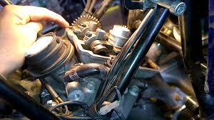 ktm 950 adventure valve adjustment youtube